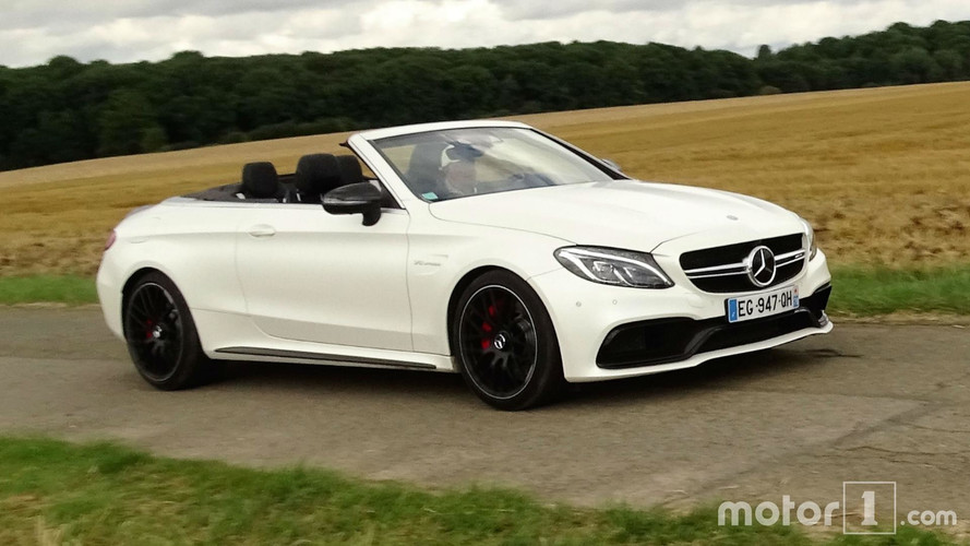Mercedes C 63 S AMG Convertible