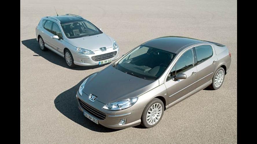 Peugeot spendiert dem Mittelklässler 407 eine Aufwertung