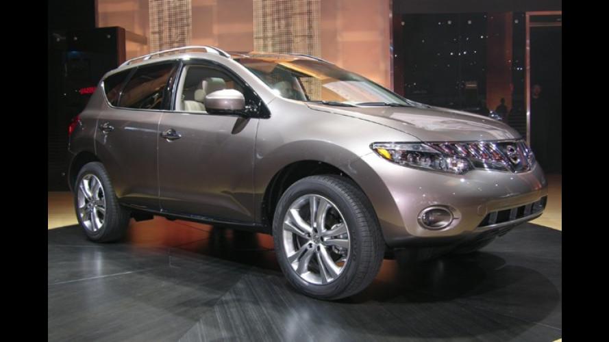 Nissan Murano: Frischer Geländewagen für den US-Markt