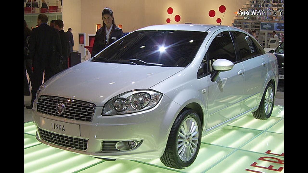 Mit Stufe: Fiat Linea
