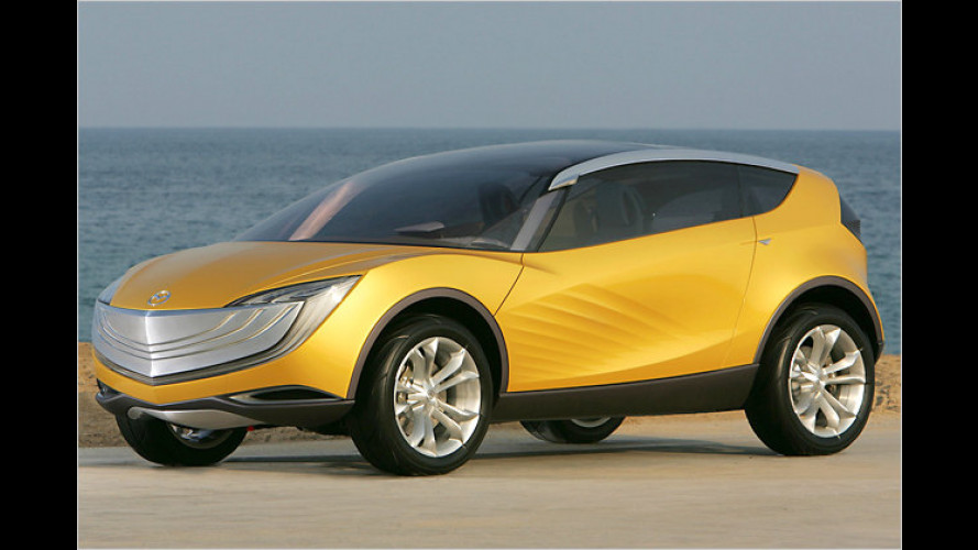 Mazda Hakaze: Praktisches Auto für Kite-Surfer