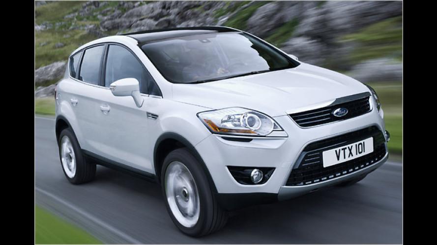 Neues Kompakt-SUV: Ausblick auf Ford Kuga (2008)