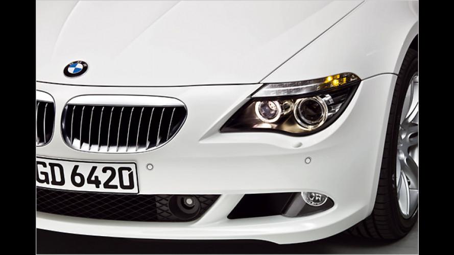 Für noch dynamischeren Auftritt: BMW 6er mit Sportpaket