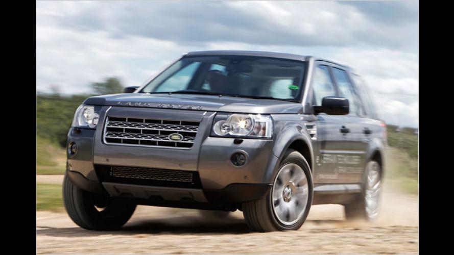 Weltpremiere: Land Rover Freelander mit Diesel- und E-Motor