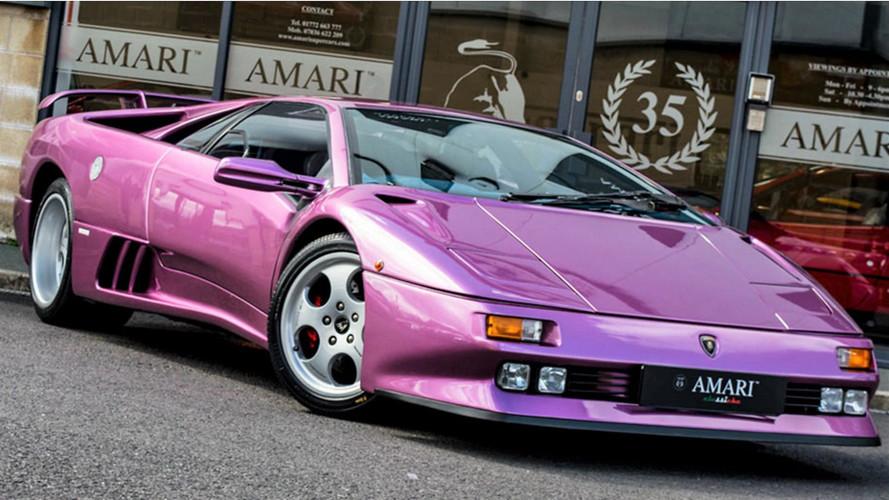 La Lamborghini Diablo de Jamiroquai est à vendre !