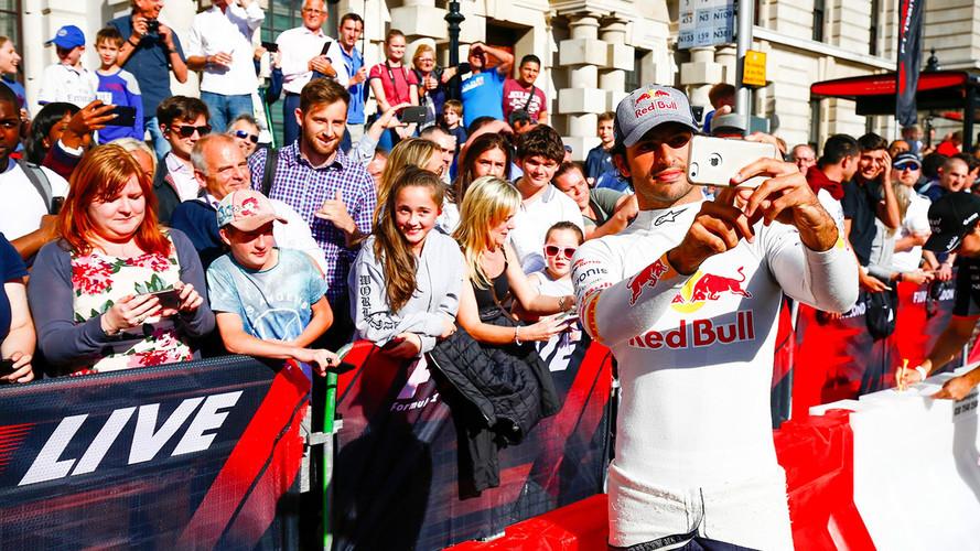 """Carlos Sainz: """"Daría todo por llevar la Fórmula 1 a Madrid"""""""