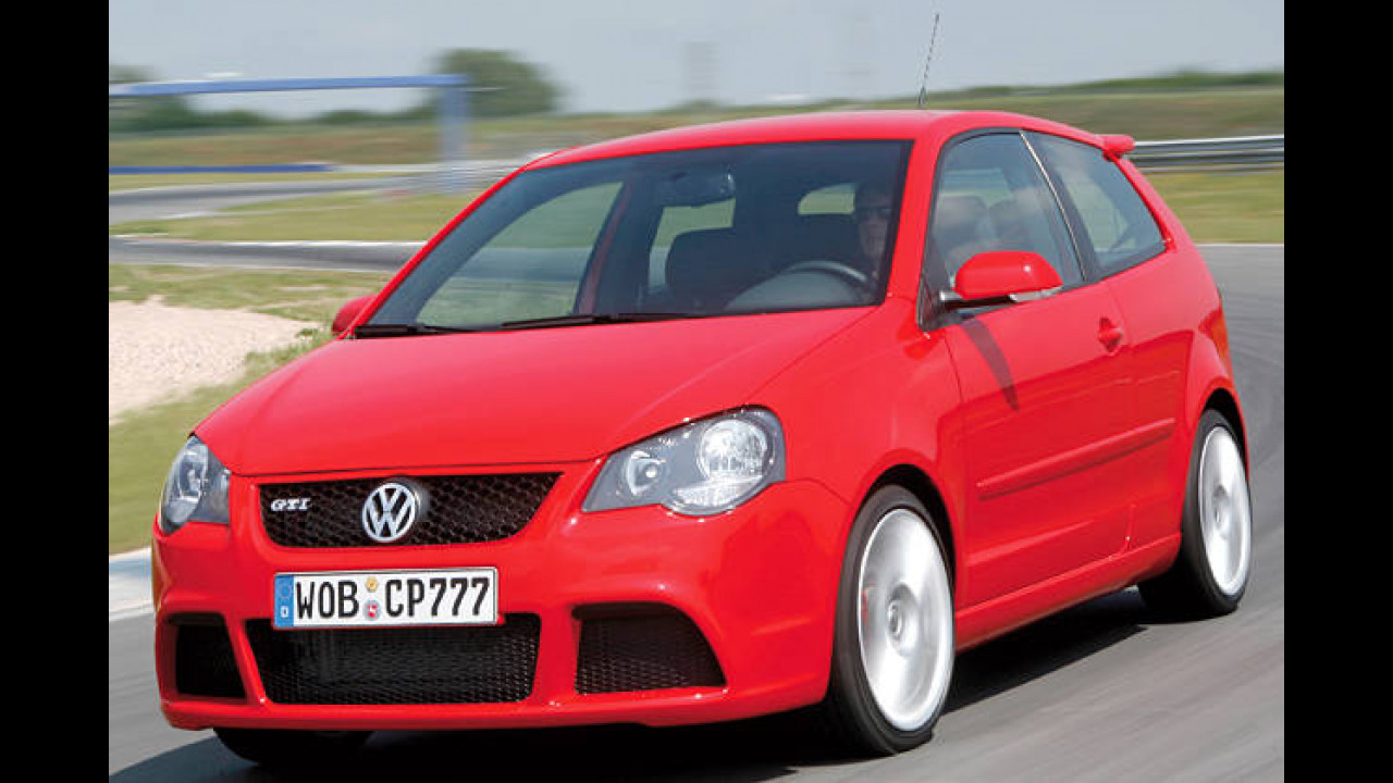 Platz 24: VW Polo GTI Cup Edition