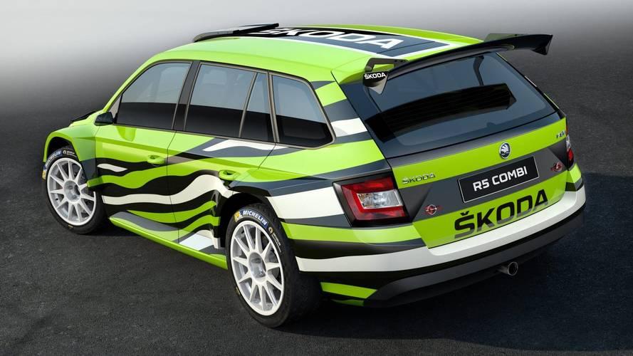 Skoda Fabia R5 Combi concept