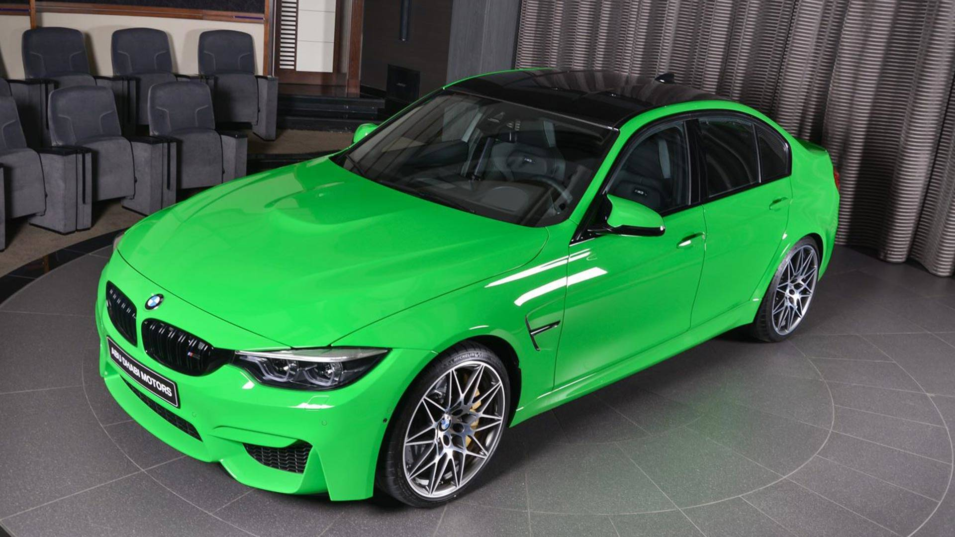 bmw m3 in verde mantis leaves us green with envy