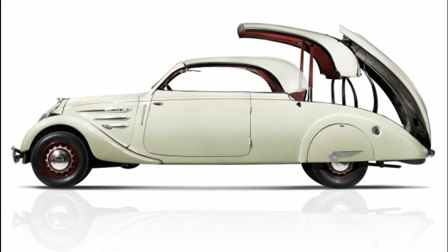 Auto e Moto d'Epoca, la carica delle francesi: ecco le foto