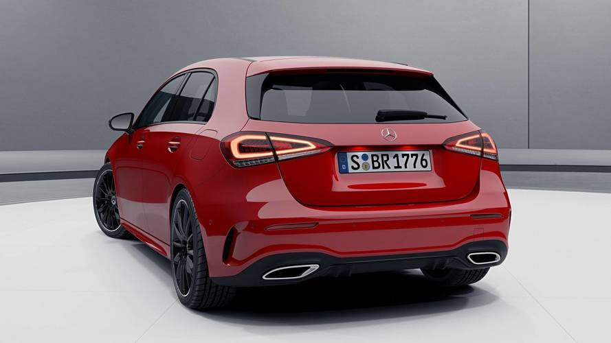 2018 Mercedes A-Class hatchback with Night Package