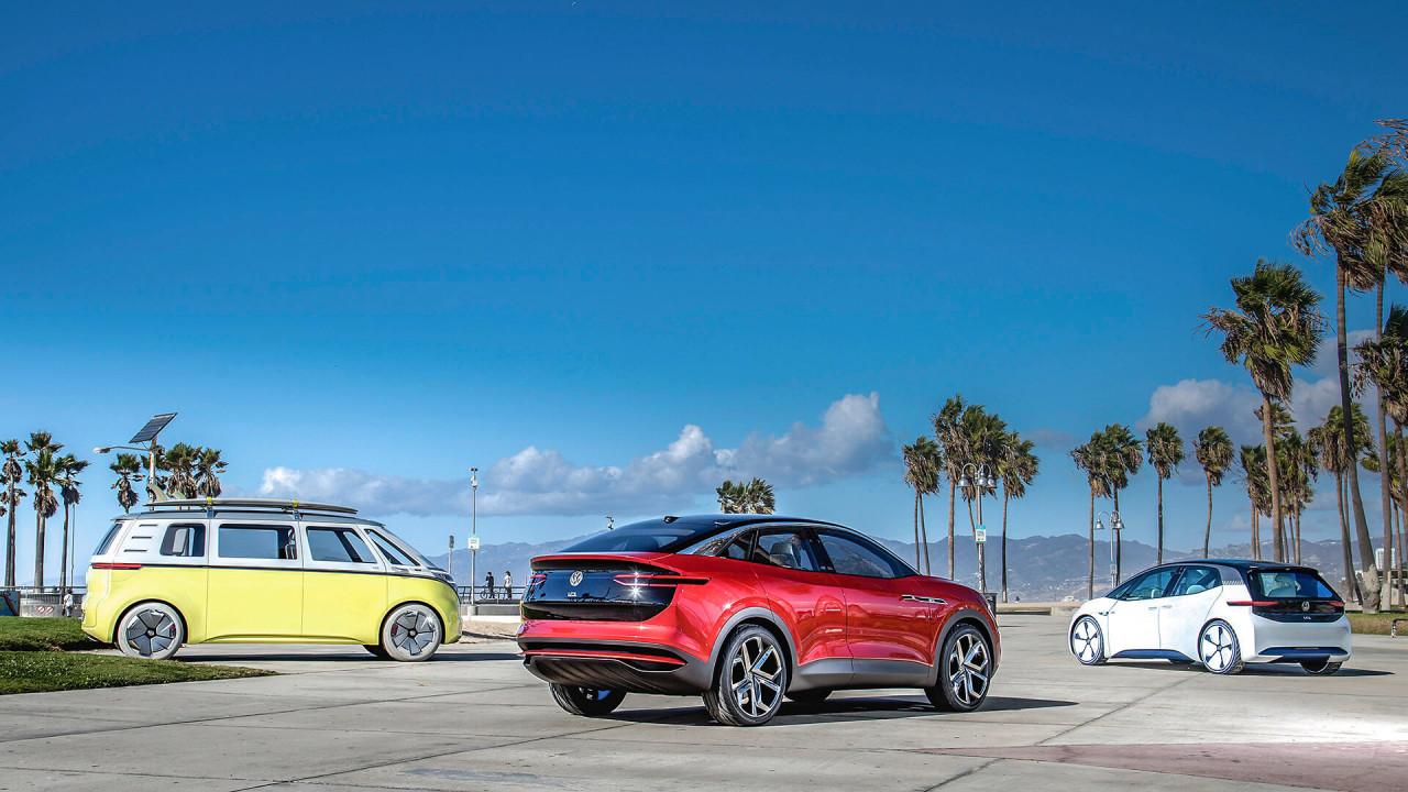 VWs Elektroflotte rollt an