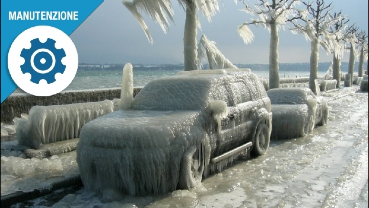 [Copertina] - Proteggere l'auto dal freddo, 3 consigli utili