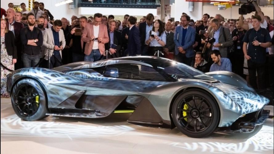 Aston Martin AM-RB 001, stupisce con 2,7 mln di euro e non solo