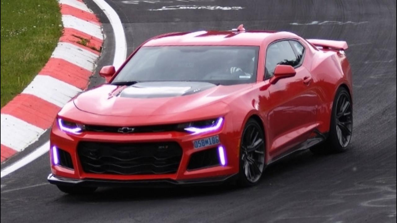 [Copertina] - Chevrolet Camaro da record al Nurburgring [VIDEO]
