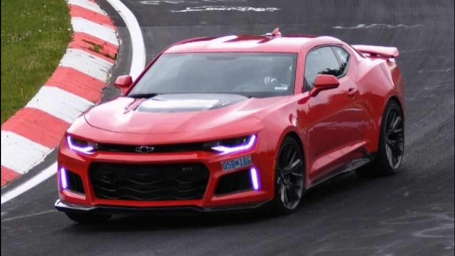 Chevrolet Camaro da record al Nurburgring [VIDEO]