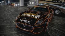 Billy Monger goes drifting at Autosport International