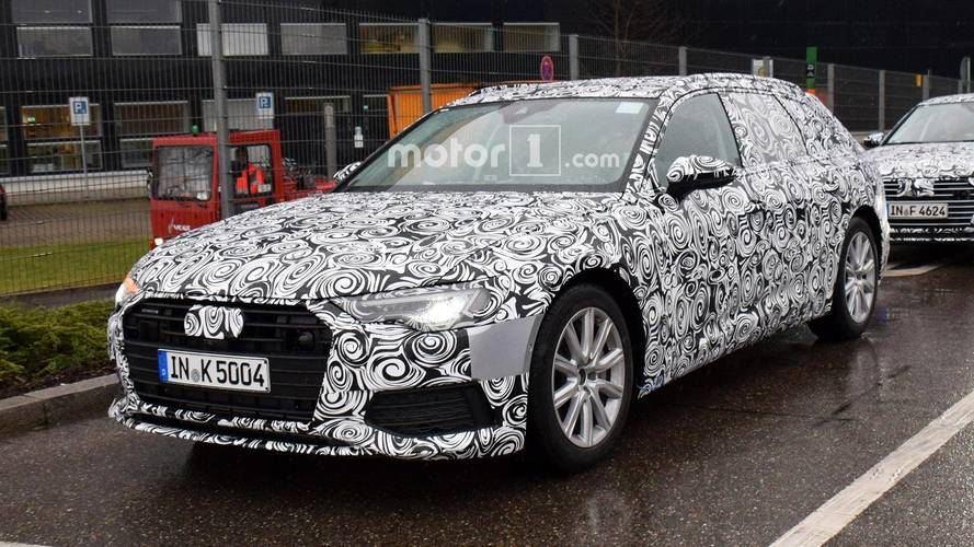 Audi A6 Avant prototipi üretime hazır görünüyor