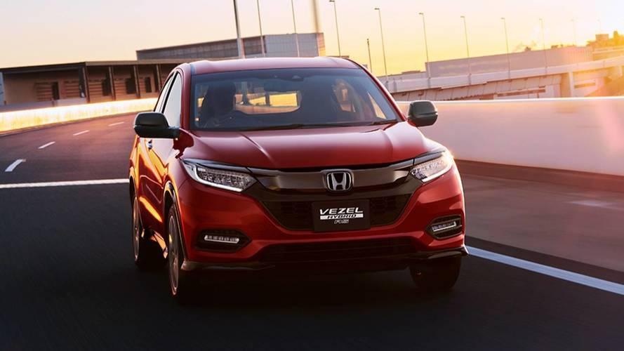 Makyajlı Honda HR-V'nin ilk fotoğrafları ortaya çıktı!