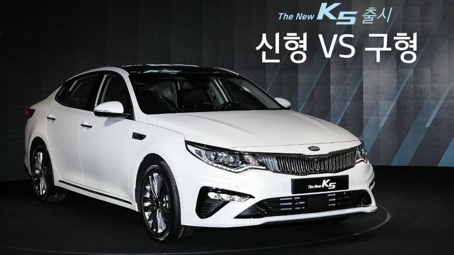 Kia Optima reestilizado surge na Coreia do Sul