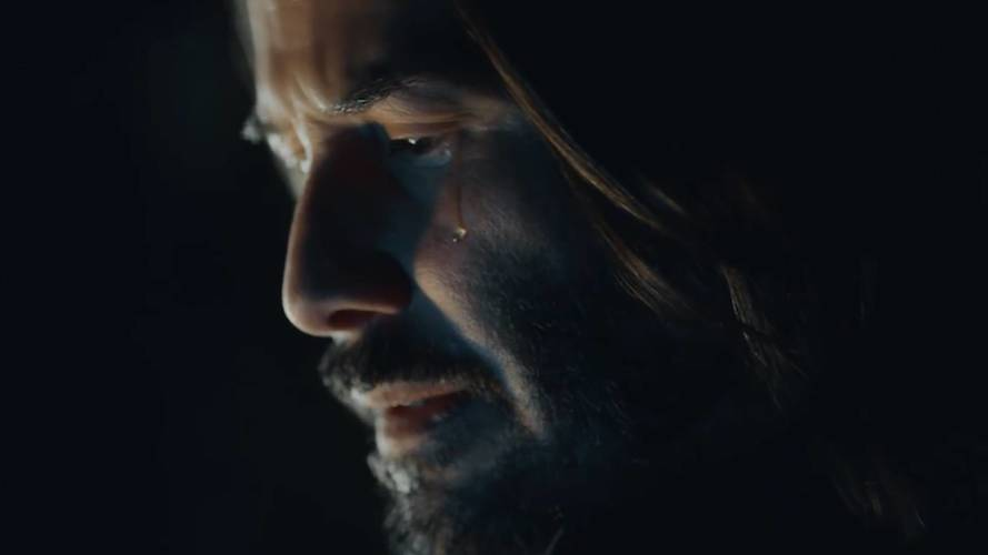Sad Keanu Not So Sad in New Squarespace Super Bowl Ad
