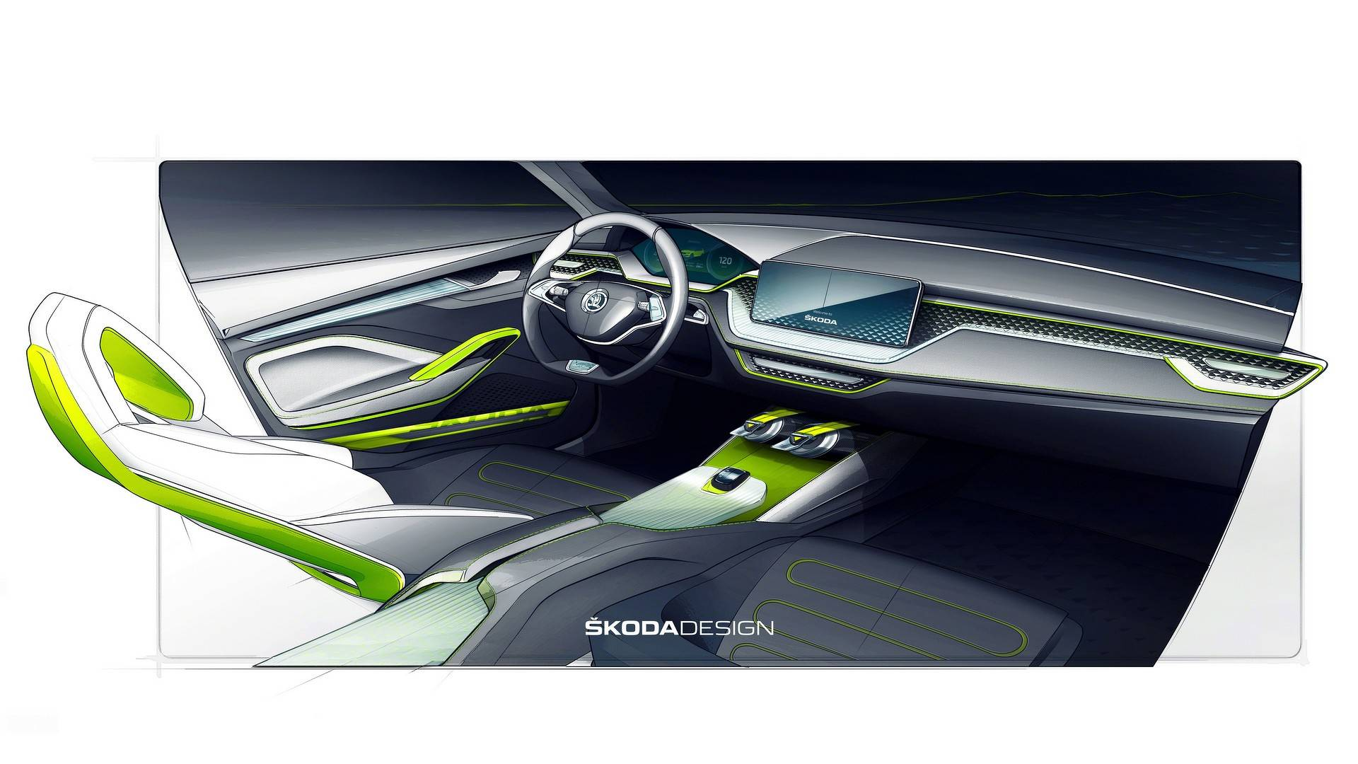 Skoda Mostra Teasers Do Vision X Versao Tcheca Do Volkswagen T Cross