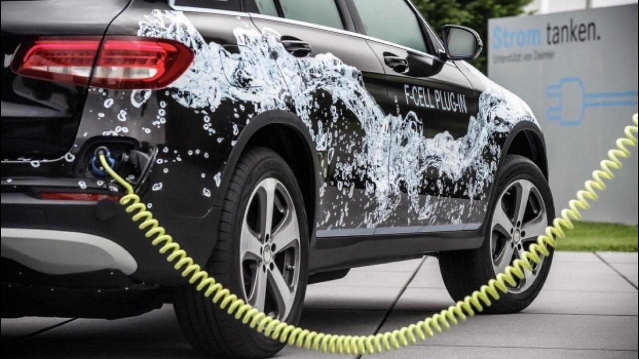 [Copertina] - E' svolta per l'auto a idrogeno, è nato l'Hydrogen Council