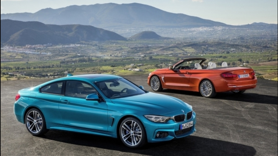 BMW Serie 4 restyling, nuovo sguardo sul 2017