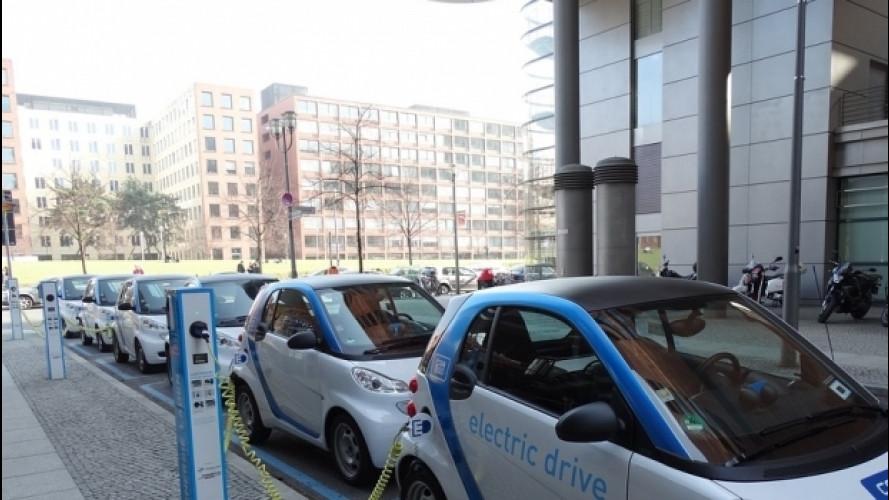 Area di ricarica per auto elettriche, ora è divieto di sosta