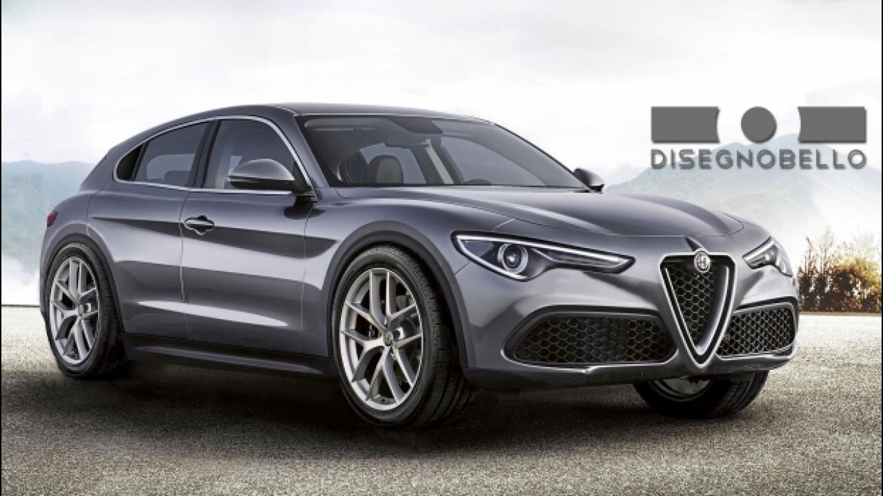 [Copertina] - Nuova Alfa Romeo Giulietta, il rendering ispirato alla Stelvio