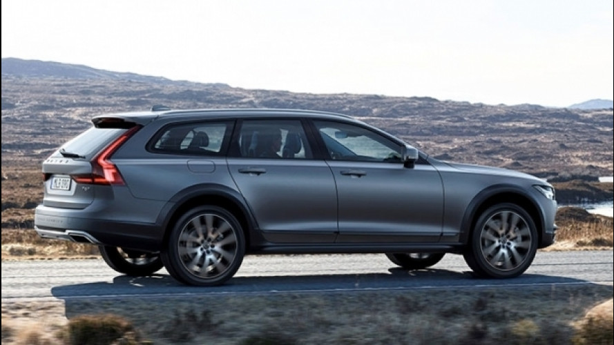 "Nuova Volvo V90 Cross Country, familiare ""da campagna"" [VIDEO]"