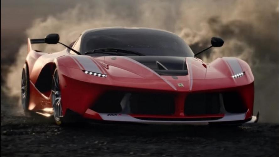 """LaFerrari FXX K, una corsa sfrenata """"contro il tempo"""" [VIDEO]"""