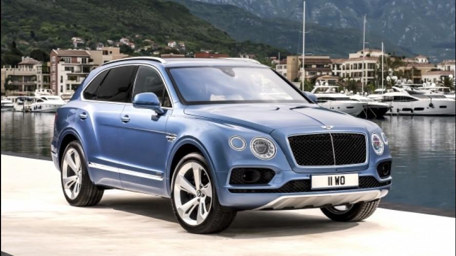 Bentley Bentayga, la prima diesel della Casa inglese