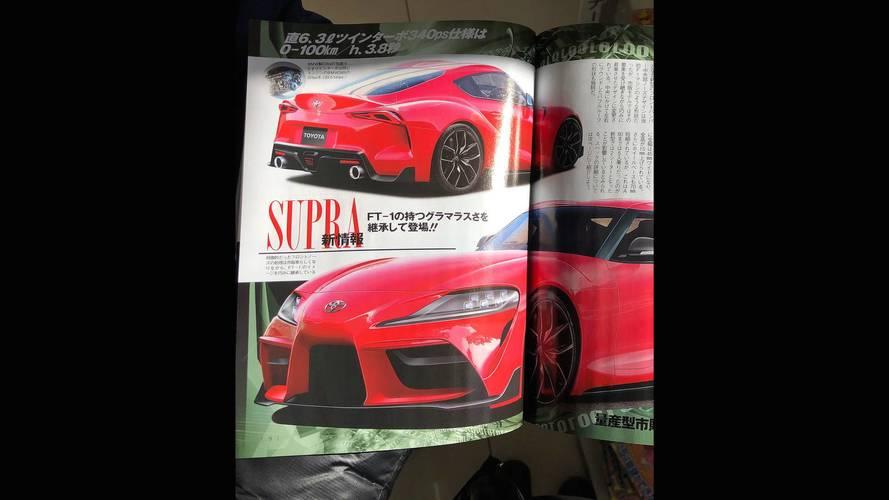 Idő előtt lelepleződött a Toyota Supra?