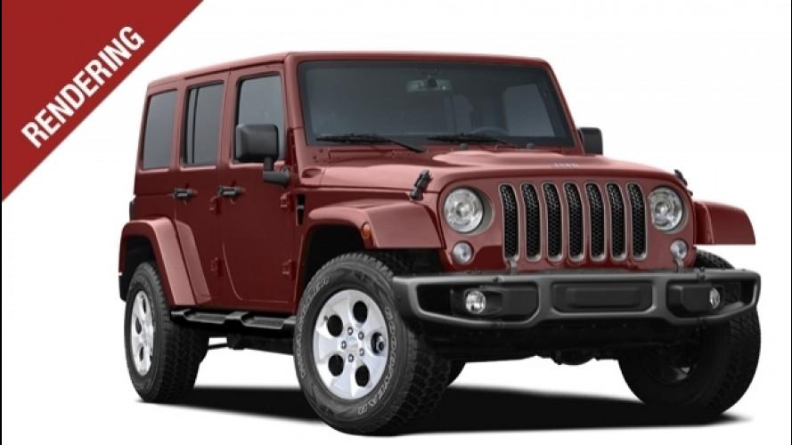 Jeep Wrangler, ecco la nuova. Secondo noi