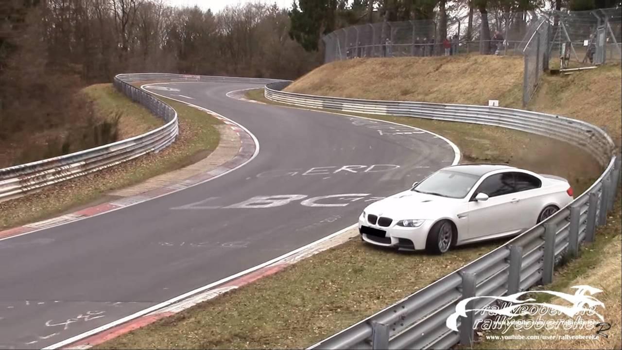 BMW M3 Nurburgring Crash