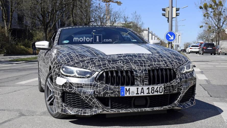 2019 BMW 8 Series Coupe ve Convertible Casus Fotoğraflar