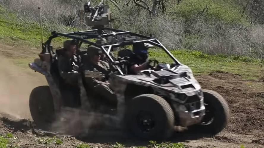 Watch Marines Test All 4,900 Pound-Feet Of Torque In Electric Nikola UTV