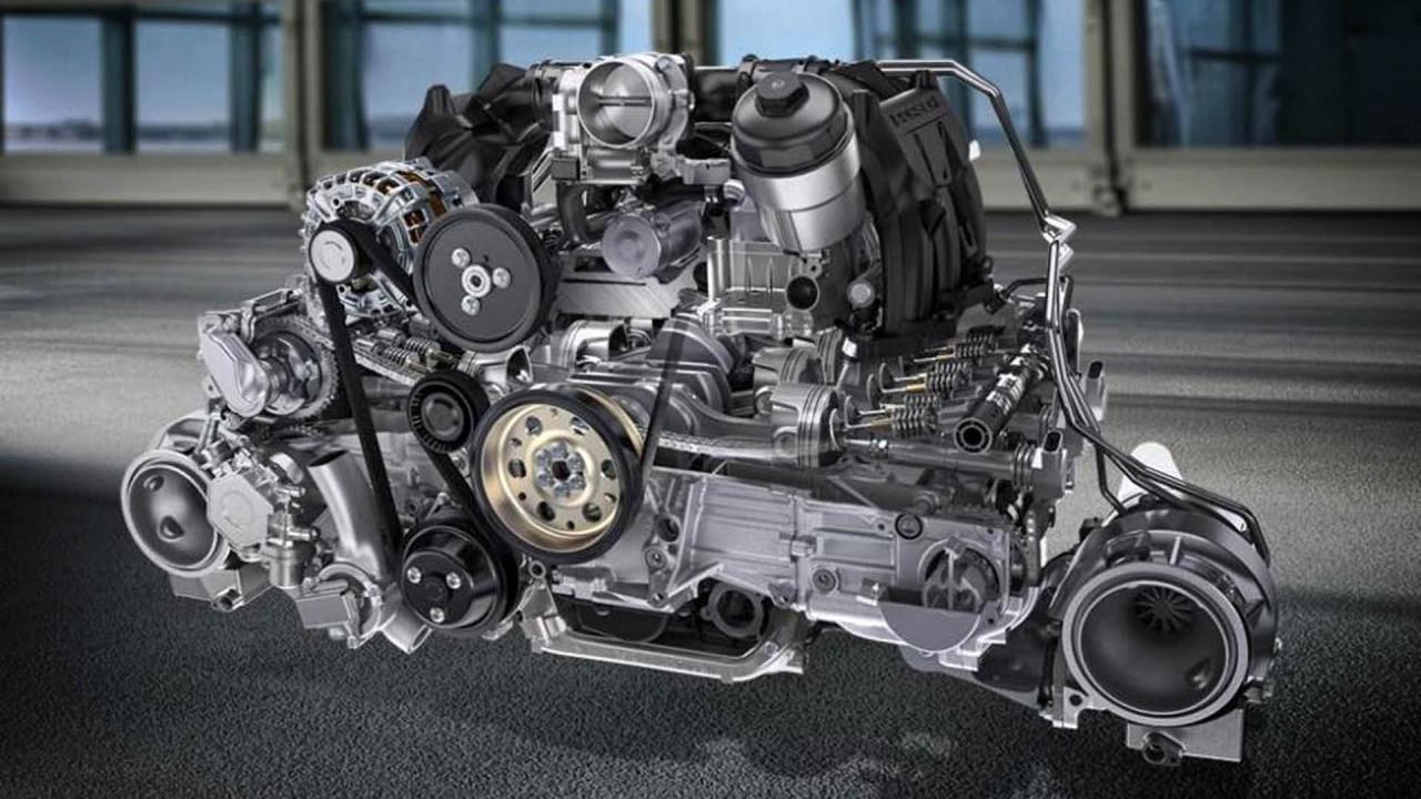 Sechszylinder: 3,8-Liter-Boxer von Porsche