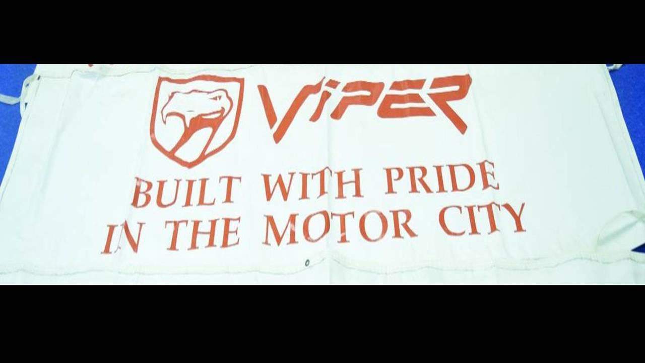 Viper Motor City Banner