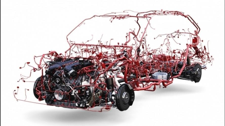 Bentley Bentayga, impianto elettrico