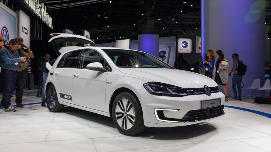 Volkswagen e-Golf, il restyling in diretta da Los Angeles [VIDEO]