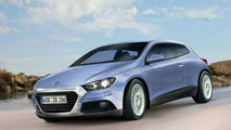 VW Scirocco Prefers Force-feeding