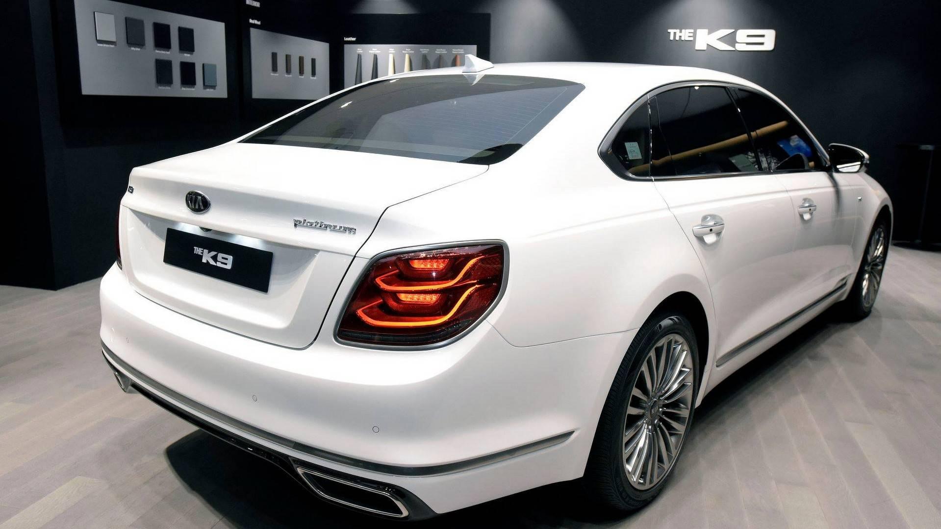 New Kia K900 Officially Revealed As K9 For South Korea