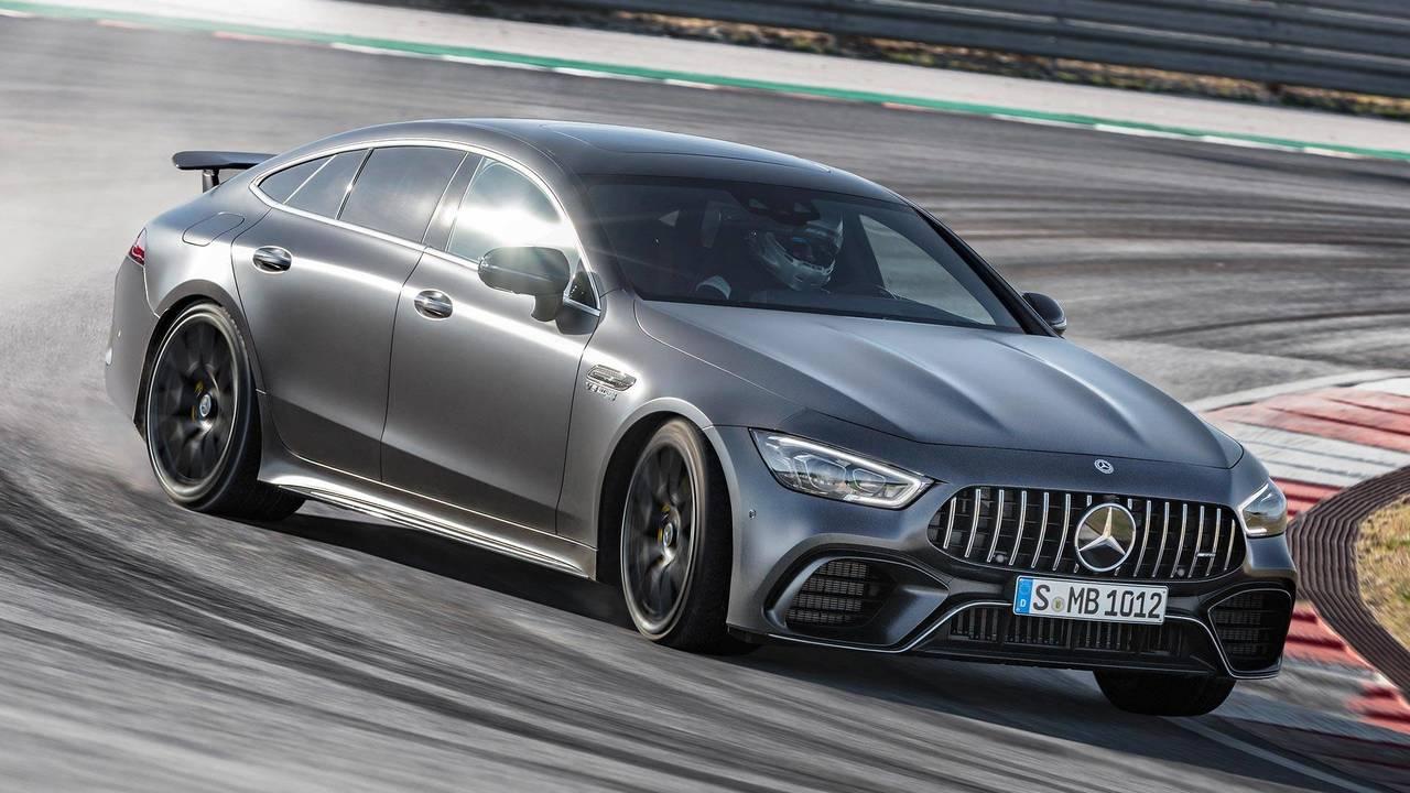 Mercedes-AMG GT 4-Door Coupe feature