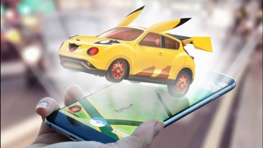 Pokémon Go, e se i Pokémon fossero auto?