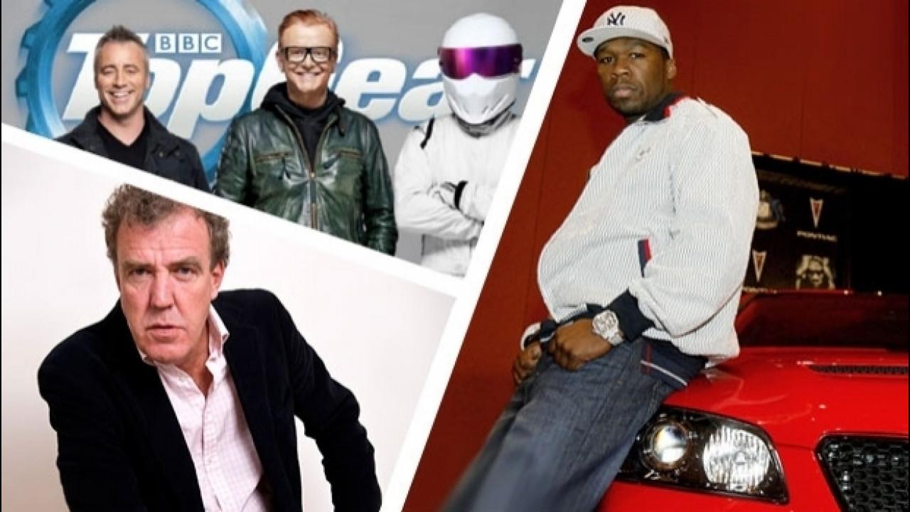 [Copertina] - Top Gear, 50 Cent si candida per sostituire Chris Evans