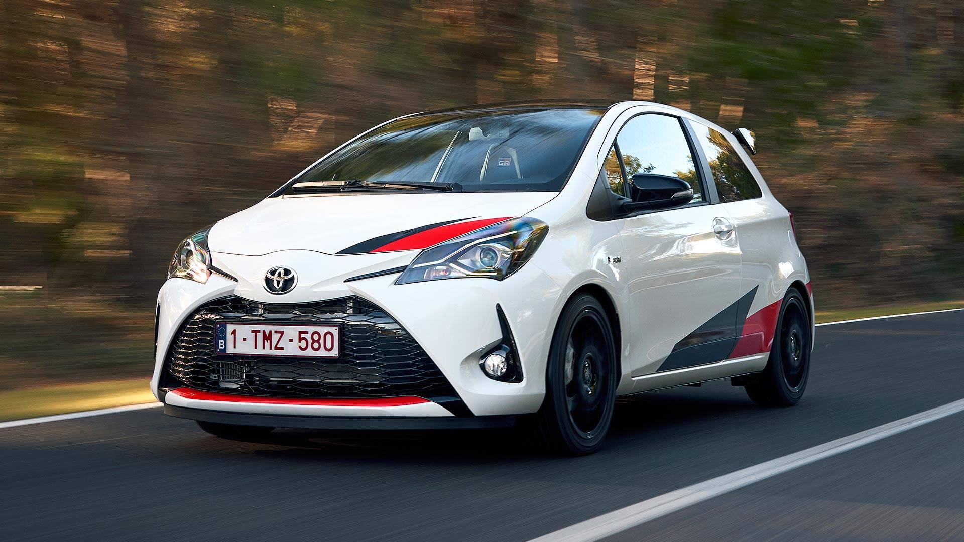 2018 Toyota Yaris Grmn First Drive Wicked Fun