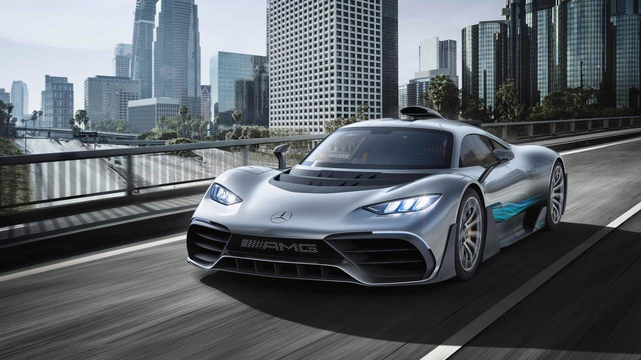 Mercedes-AMG Project One (2018)
