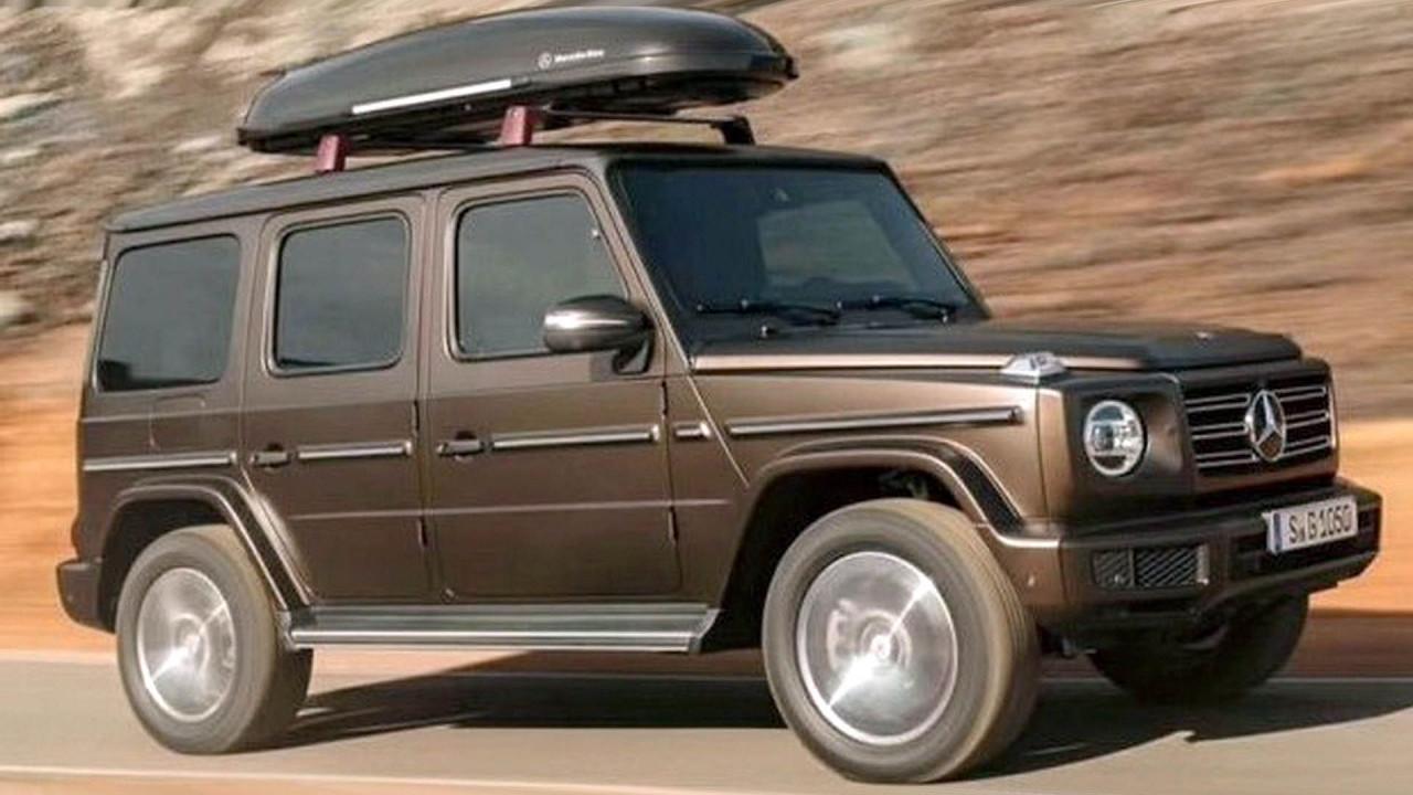 Neue Mercedes G-Klasse geleaked